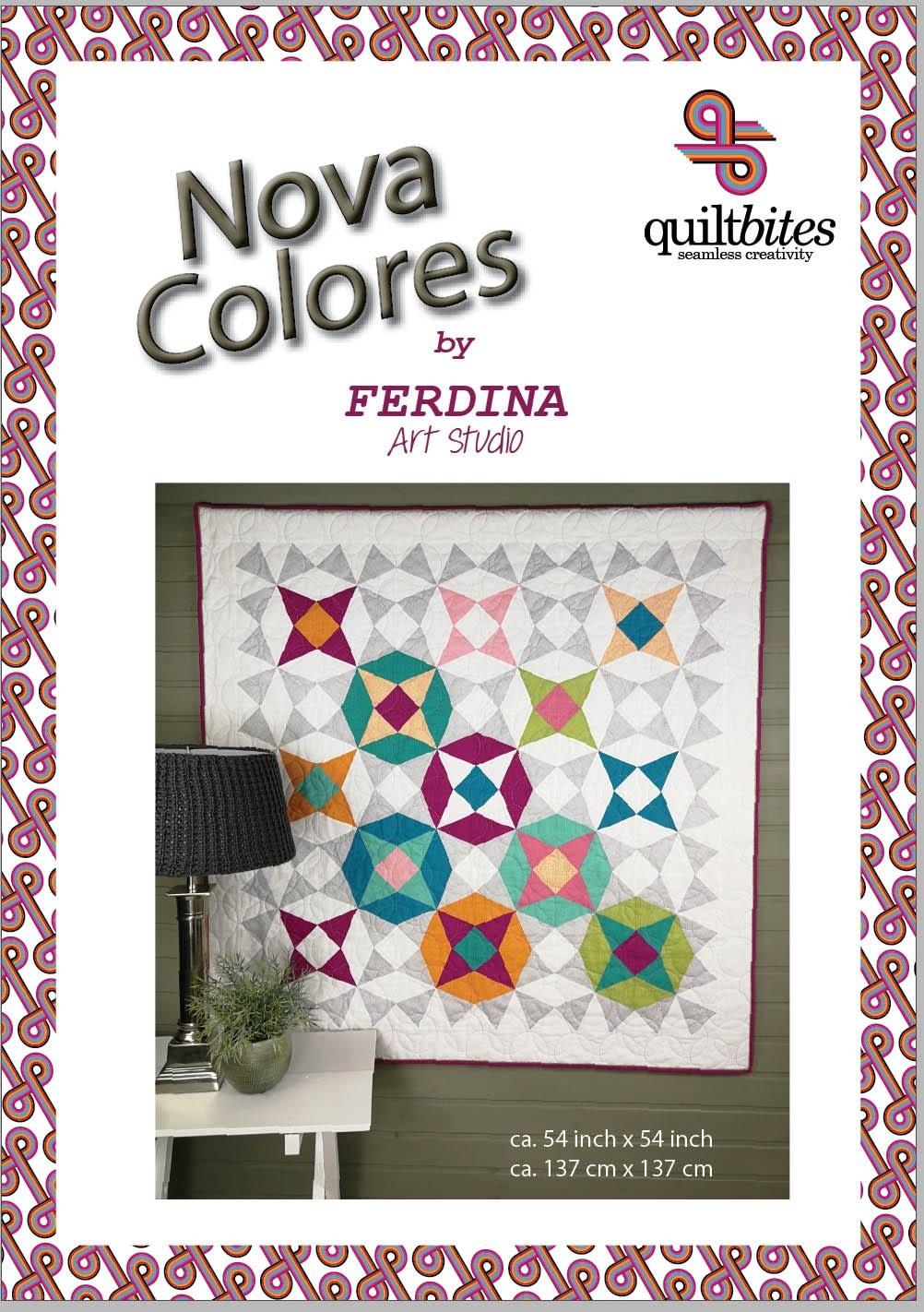 Nova Colores quilt patroon